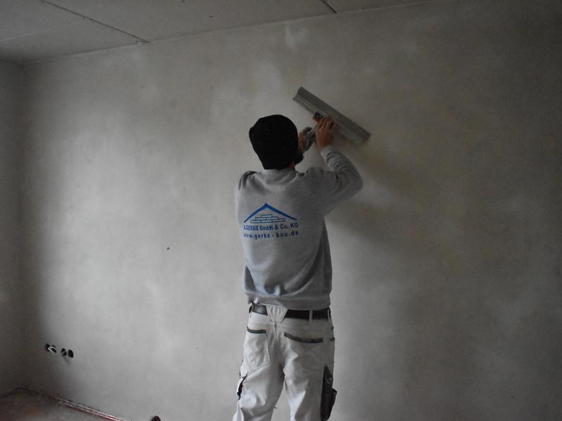 Gerke Bau Projekte Innenputzarbeiten