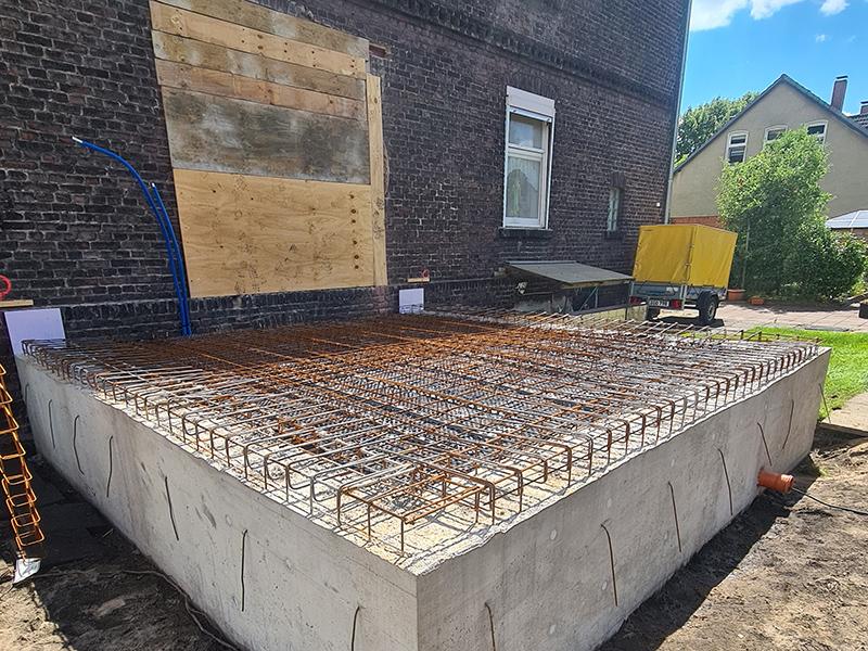 Gerke Bau Projekte Stahlbetonarbeiten